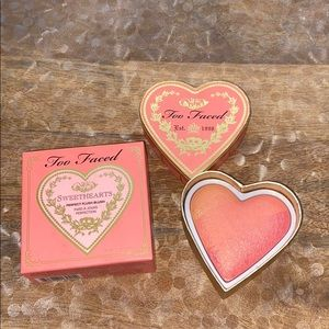 Too faced sweethearts blush sparkling Bellini